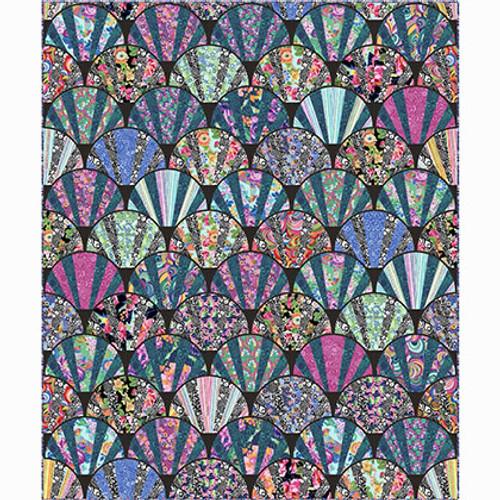 Art Deco Style Quilt using Philip Jacobs fabrics