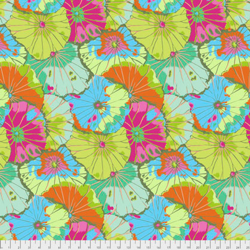 Lotus Leaf Kaffe Fassett Classic Colour: Lime