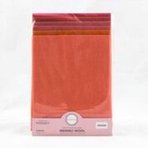 Sue Spargo Merino Wool Pack 100% Premium Australian Orange Pack