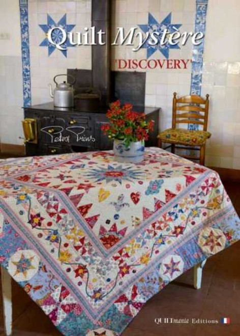2016 – MYSTERY QUILT – BY PETRA PRINS