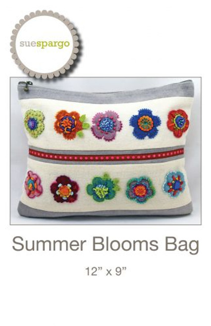 Summer Blooms Pattern by Sue Spargo