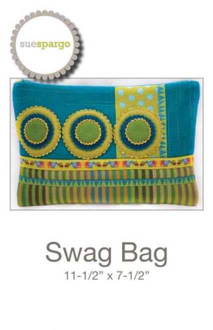 Swag Bag Pattern by Sue Spargo