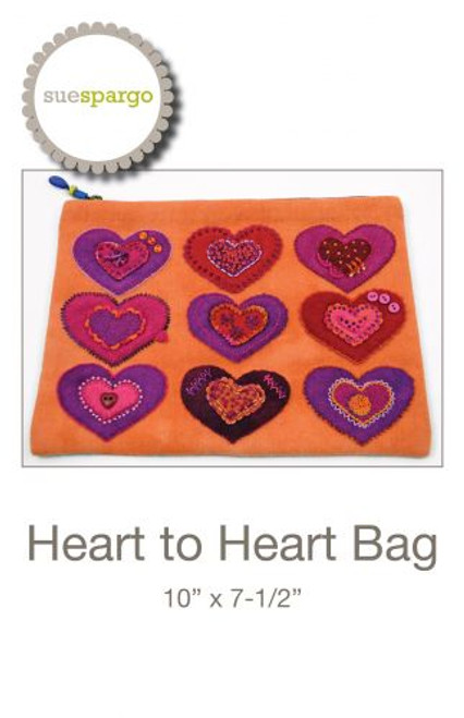 Heart to Heart Pattern by Sue Spargo