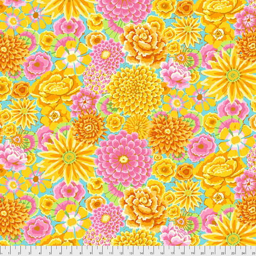 Enchanted -  yellow Kaffe Fassett Fall 2018