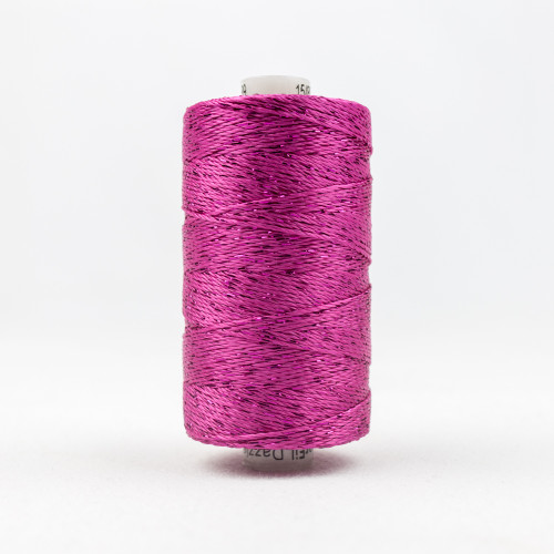 Dazzle 8wt Rayon Wonderfil Threads Fushia