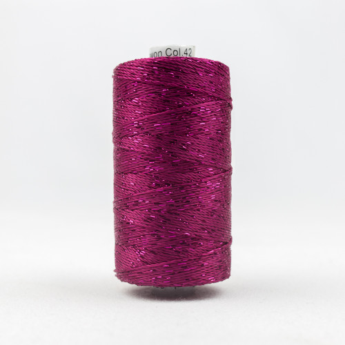 Dazzle 8wt Rayon Wonderfil Threads Raspberry