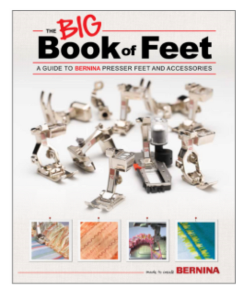 "Bernina's Big Book of Feet ""New Edition"""