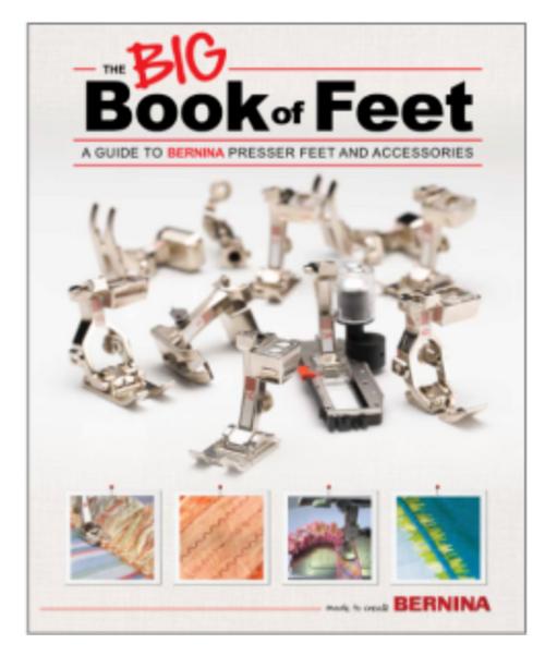 "Bernina's Big Book of Feet ""New Edition"""