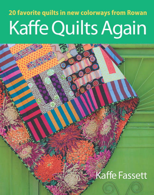 Kaffe Quilts Again, Kaffe Fassett book