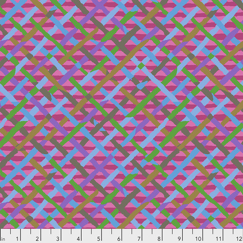 Mad Plaid - FUSHSIA Brandon Mably