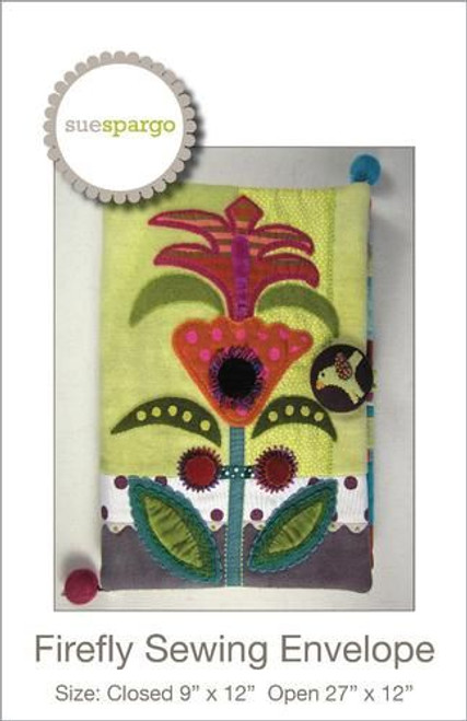 Firefly Sewing Envelope by Sue Spargo