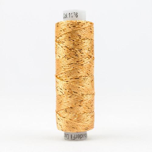 SUE SPARGO DAZZLE-PEACH FUZZ-8wt Metallic Rayon