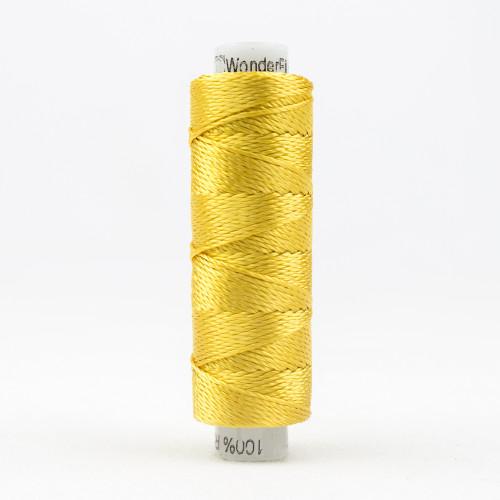 SUE SPARGO RAZZLE-LEMON CHROME-8wt 6-ply 100% Rayon