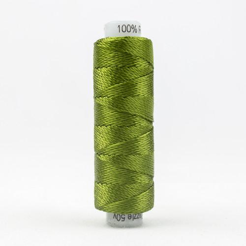 SUE SPARGO RAZZLE-CALLA GREEN-8wt 6-ply 100% Rayon
