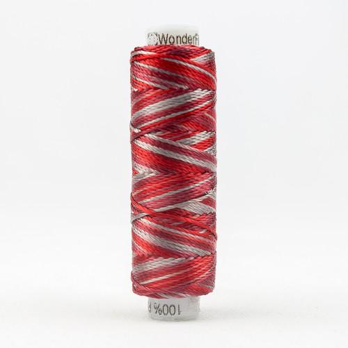 SUE SPARGO RAZZLE-SEQUIN SASH-8wt 6-ply 100% Rayon in variegated colors