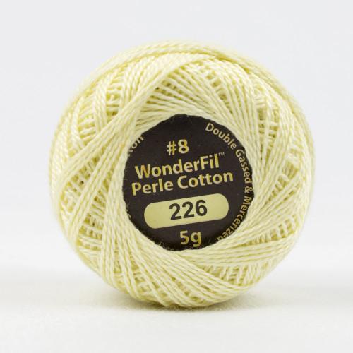 DANDELION PUFF #8 Perle cotton, 2-ply 100% long staple Egyptian cotton