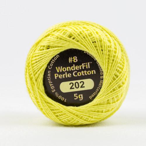 WINTER SUN #8 Perle cotton, 2-ply 100% long staple Egyptian cotton
