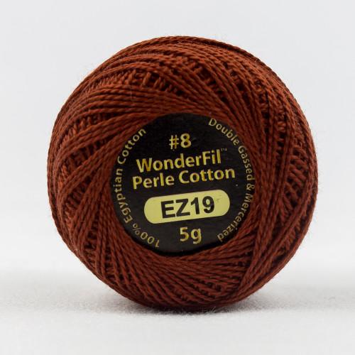 AUTUMN LEAF-#8 Perle cotton, 2-ply 100% long staple Egyptian cotton (EL5G-19)
