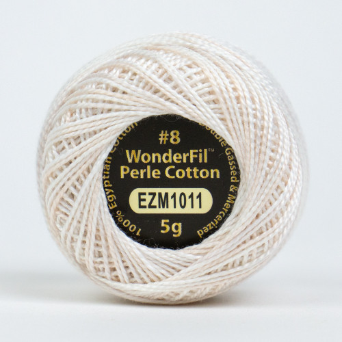 PASTEL PEACH-#8 Perle cotton, 2-ply 100% long staple Egyptian cotton in variegated colors (EL5GM-1011)