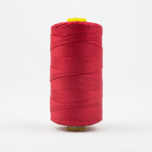 WONDERFIL SPAGETTI-BRIGHT WARM RED-12wt 3-ply Double-Gassed Egyptian cotton. (SP4-01)