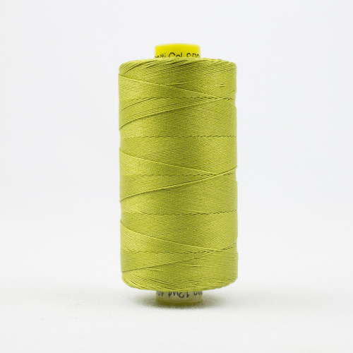 WONDERFIL SPAGETTI-CHARTREUSE-12wt 3-ply Double-Gassed Egyptian cotton. (SP4-04)