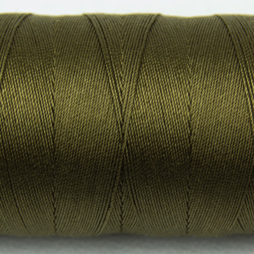 WONDERFIL SPAGETTI-ARMY GREEN-12wt 3-ply Double-Gassed Egyptian cotton. (SP4-22)