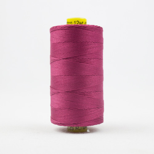 WONDERFIL SPAGETTI-SOFT BURGUNDY-12wt 3-ply Double-Gassed Egyptian cotton. (SP4-31)