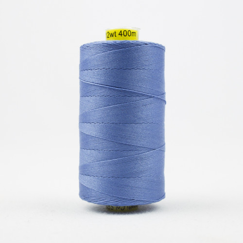 WONDERFIL SPAGETTI-CLEAR BLUE-12wt 3-ply Double-Gassed Egyptian cotton. (SP4-34)