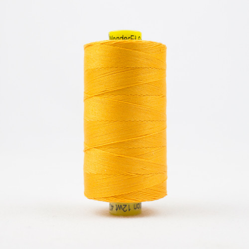 WONDERFIL SPAGETTI-MARIGOLD-12wt 3-ply Double-Gassed Egyptian cotton. (SP4-47)