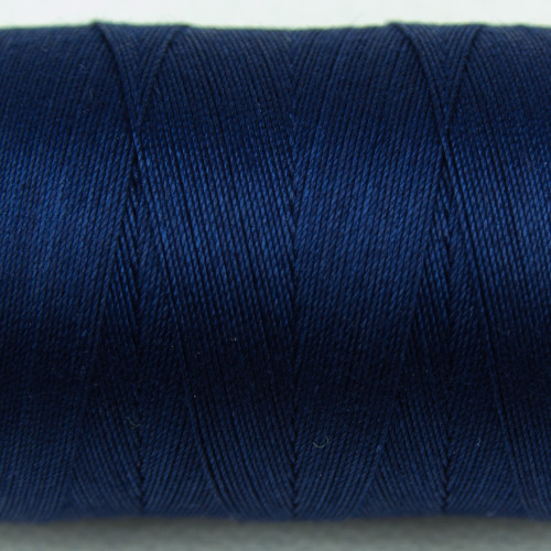 WONDERFIL SPAGETTI-BRIGHT NAVY-12wt 3-ply Double-Gassed Egyptian cotton. (SP4-53)