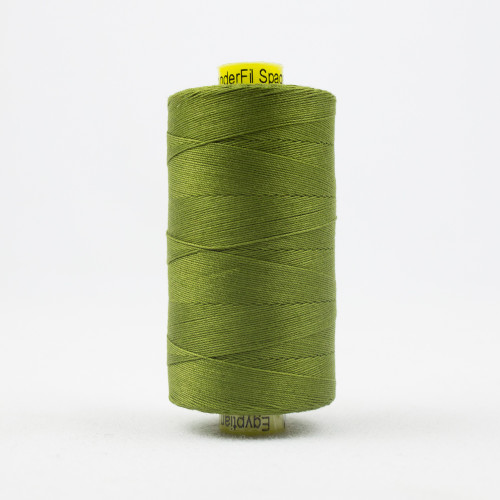 WONDERFIL SPAGETTI-OLIVE-12wt 3-ply Double-Gassed Egyptian cotton. (SP4-54)