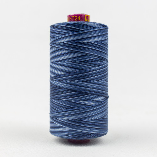 WONDERFIL FRUITTI-BLUE NIGHT-12wt 3-ply Double-Gassed Egyptian cotton. (FT4-24)