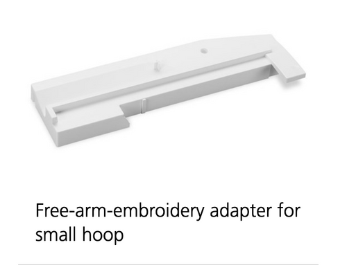 Free-Arm Embroidery Adapter for Small Hoop