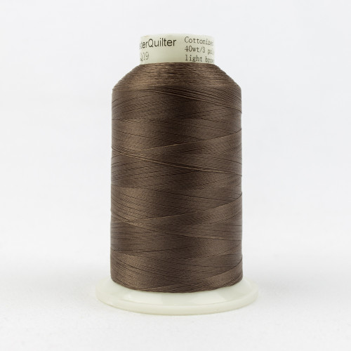 Master Quilter, 40wt polyester, 3000 yards Light Brown