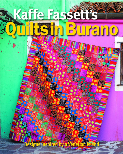 Quilts in Burano by Kaffe Fassett