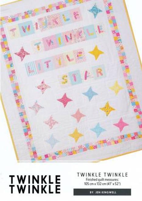 Twinkle, Twinkle  Quilt Pattern, Jen Kingwell Designs