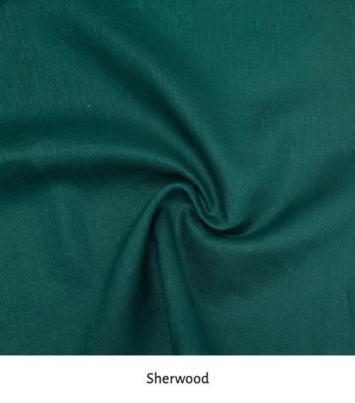 100% Linen Colour: Sherwood