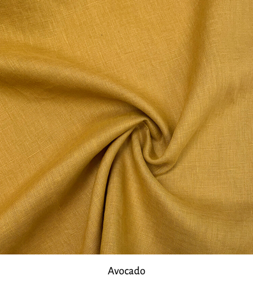 Linen colour: Avocado