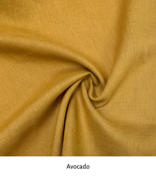 Linen colour: Avocado