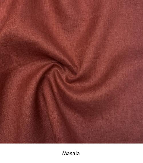 Linen colour: Masala