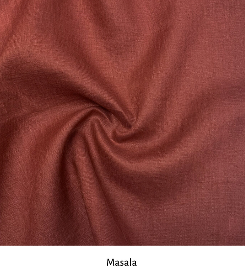 Linen colour: Masala