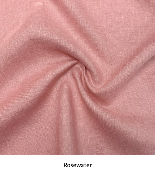 Linen colour: Rosewater