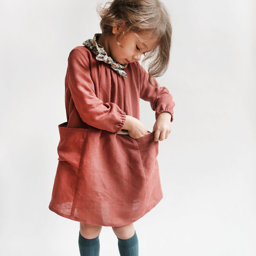 Wiksten, Baby + Child, Smock Top + Dress Sewing Pattern