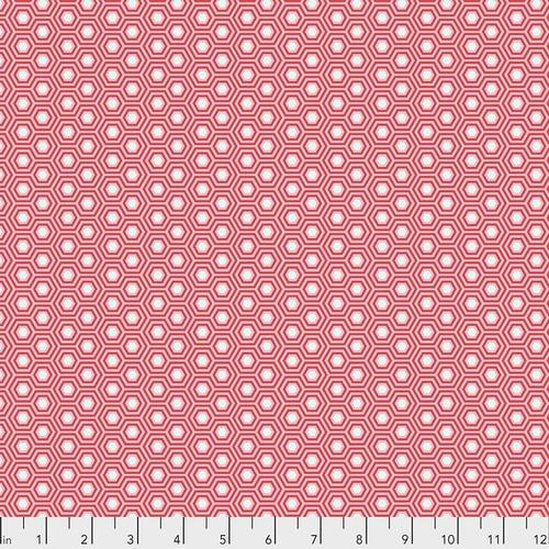 Tula Pink, True Colors, Hexy - Flamingo