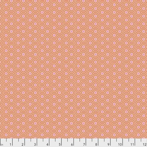 Tula Pink, True Colors, Hexy - Peach Blossom