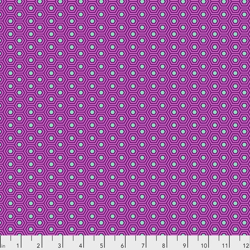 Tula Pink, True Colors, Hexy - Thistle