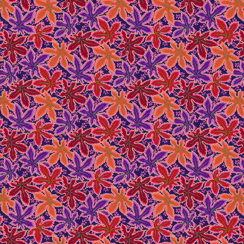 Philip Jacobs Kaffe Fassett Collective Lacy Leaf Red