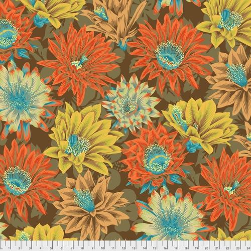 Cactus Flower Philip Jacobs PWPJ096-Brown