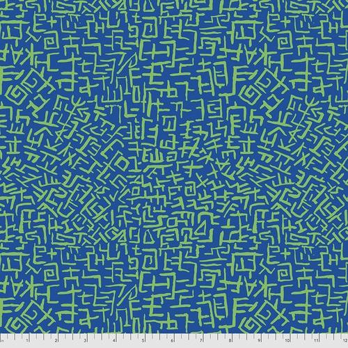 Amaze - Blue Brandon Mably, Kaffe Fassett Collective PWBM078.BLUE