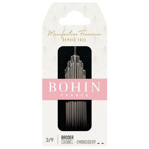 Bohin Embroidery / Crewel Needles Sizes 3/9